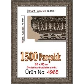 Educa Heidi 1500 Parçalık  Çerçevesi 60x85 Cm 4965 Puzzle