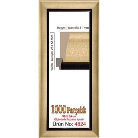 Educa Heidi 1000 Parçalık Panorama  Çerçevesi 34 X 96 Cm 4824 Puzzle
