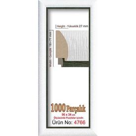 Educa Heidi 1000 Parçalık Panorama  Çerçevesi 34 X 96 Cm 4766 Puzzle