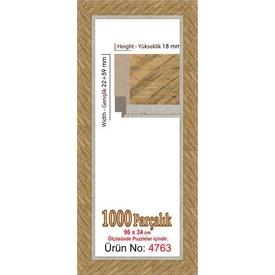 Educa Heidi 1000 Parçalık Panorama  Çerçevesi 34 X 96 Cm 4763 Puzzle