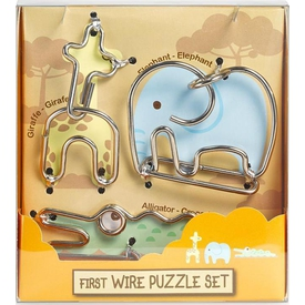 Educa Eureka First Wire Animal 2 Set Puzzle