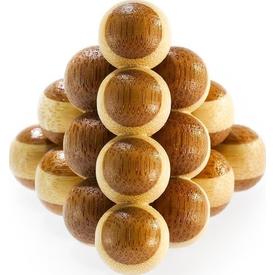 Educa Eureka Bamboo  Cannon Balls Puzzle