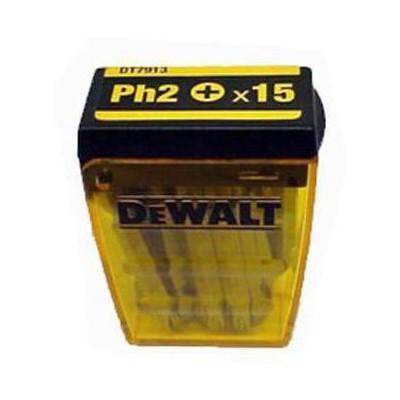 Dewalt Dt7913 15 Adet Ph2 Vidalama Uç Seti Makine Aksesuarı