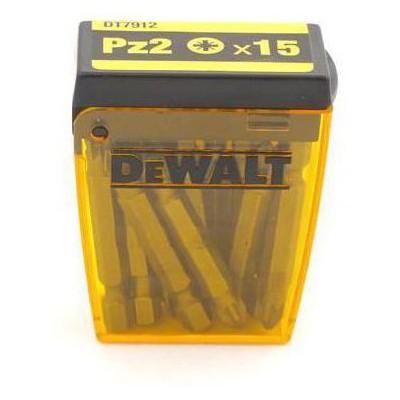 Dewalt DT7912 15 Adet Pz2 Vidalama Uç Seti Makine Aksesuarı