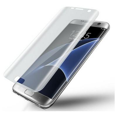 Microsonic Samsung Galaxy S7 Edge Ön + Arka Tam Ekran Kaplayıcı Film Kavisler Dahil Ekran Koruyucu Film