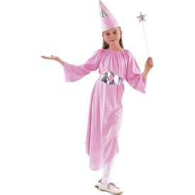 Parti Paketi Tatlı Büyücü Kostümü, 4-6 Yaş Kız Çocuk Kostümleri