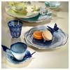Arte Bianco Belce Lacivert El Yapımı Tek Kişilik Kahve Ikram Seti Çay Seti