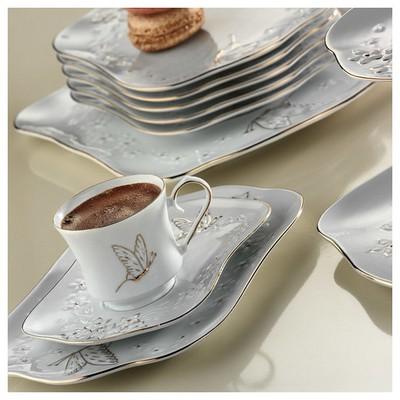 Arte Bianco Beliz 12 Parça Kahve Takımı Çay Seti