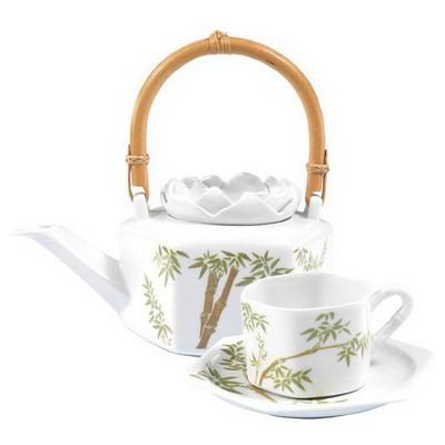 Arte Bianco Çingülü Çay Seti