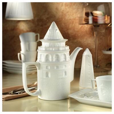 Arte Bianco Galata 6 Kişilik Çay Takımı Çay Seti