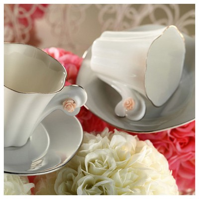 Kütahya Porselen Kavuk Kahve Takımı Çay Seti