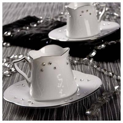 Arte Bianco Kütahya Porselen Meriç Kahve Fincan Seti