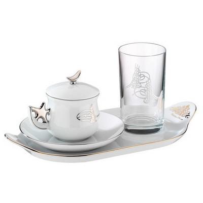 Kütahya Porselen Paşa Fincan Takımı Çay Seti