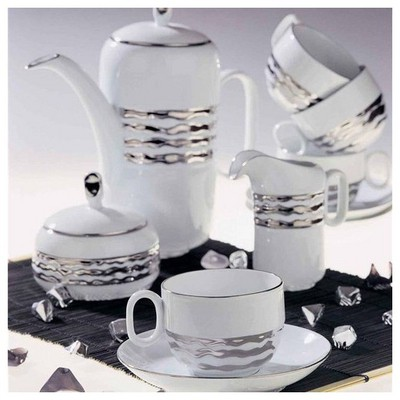 Arte Bianco Side Çay Takımı Çay Seti