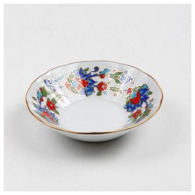 Kütahya Porselen Acem El Yapımı Çay Tabağı 458 Desen Çay Seti