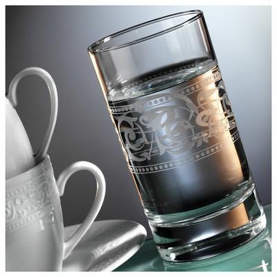 Kütahya Porselen Açelya 2 Kişilik Su Bardaklı Kahve Fincan Takımı Çay Seti
