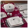 Kütahya Porselen Aliza Bone 12 Kişilik 83 Parça 25101 Desenli Yemek Takımı