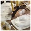 Kütahya Porselen Aliza Bone 83 Parça 65117 Desenli Yemek Takımı