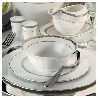 Kütahya Porselen Aspendos 84 Parça 25151 Desenli Yemek Takımı