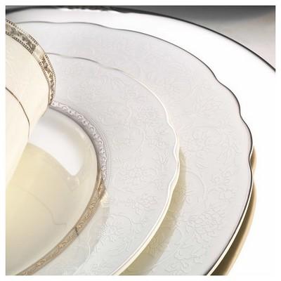 Kütahya Porselen Aspendos 84 Parça 25151 Desenli Yemek Takımı Tabak