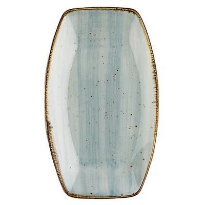 Kütahya Porselen Atlantis Bohem 19 Cm Kayık Tabak Mavi