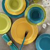 Naturaceram Natura Ceram Athena 24 Parça Sarı Yemek Seti Sofra Gereçleri