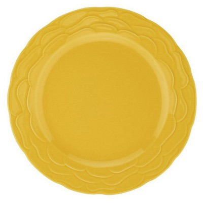 Naturaceram Natura Ceram Athena Servis Tabağı Sarı Küçük Mutfak Gereçleri