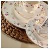 Kütahya Porselen Bone China 84 Parça 25133 Desenli Yemek Takımı