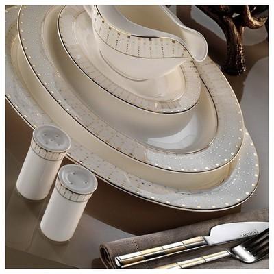 Kütahya Porselen Bone China 84 Parça 25135 Desenli Yemek Takımı