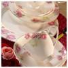 Kütahya Porselen Bone China 84 Parça 25139 Desenli Yemek Takımı