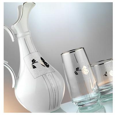 Kütahya Porselen 6 Kişilik 25101 Desen 31 Parça Cam Çeyiz Seti Yemek Takımı