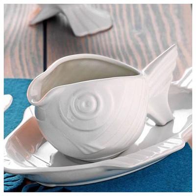 Kütahya Porselen Balık Sosluk Küçük Mutfak Gereçleri