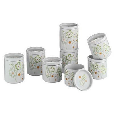 Kütahya Porselen Porselen Baharat Takımı 5 Baharatlık