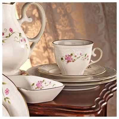 Mitterteich Caprice 7674 Desen Çay Fincanı Ve Tabağı Çay Seti