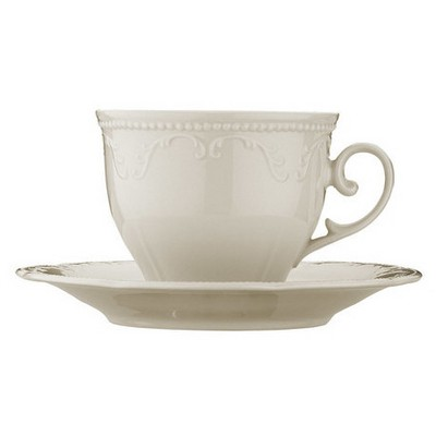 Mitterteich Caprice Krem 6 Kişilik Çay Takımı Çay Seti