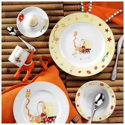 Kütahya Porselen Zürafacık Mama Takımı Yemek Takımı