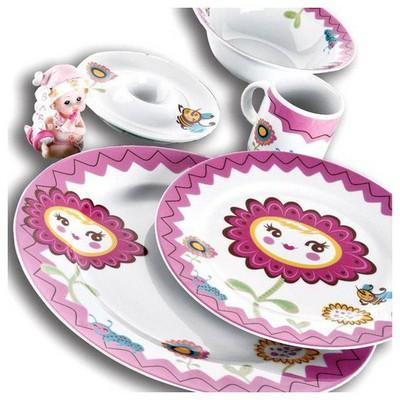 Kütahya Porselen Arıcık Mama Takımı Yemek Takımı