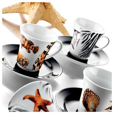 Kütahya Porselen Estel 6 Kişilik Çay Takımı Çay Seti