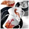 Kütahya Porselen Estel 6 Kişilik Kahve Fincan Takımı Çay Seti