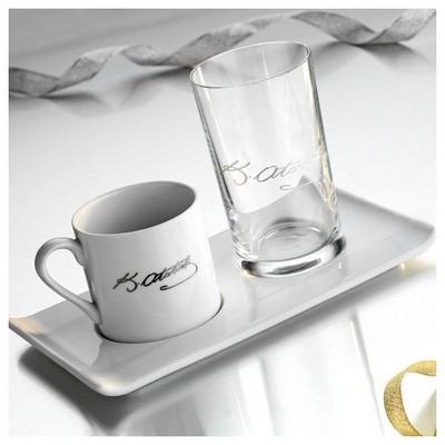 Kütahya Porselen Atatürk Imzalı Kahve Fincan Seti Çay Seti