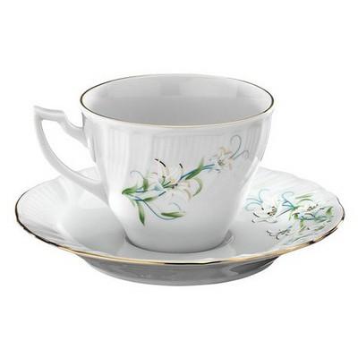 Kütahya Porselen Diana Çiçekli Çay Takımı Çay Seti