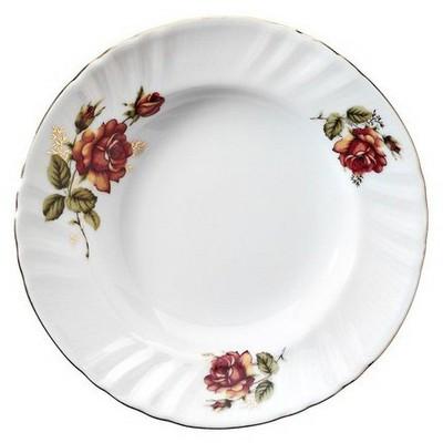 Kütahya Porselen Diana Güllü Yemek Tabağı Tabak