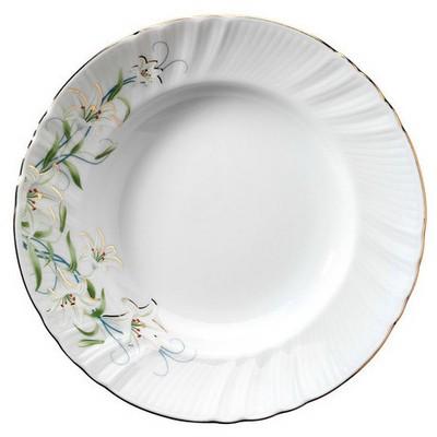 Kütahya Porselen Diana Çiçekli Yemek Tabağı Tabak
