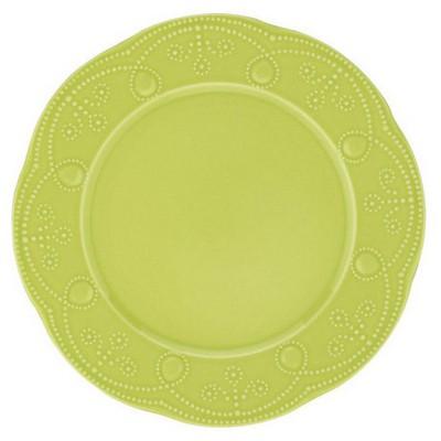 Naturaceram Fulya Pasta Tabağı Yeşil Tabak