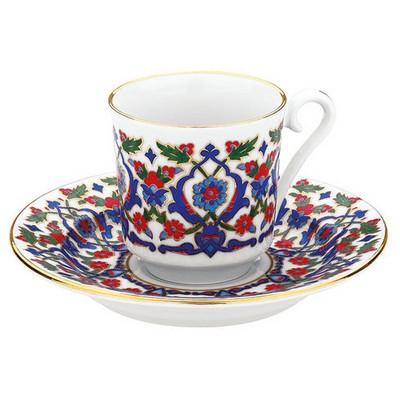 Kütahya Porselen 3643 Desen Kahve Fincan Takımı Çay Seti