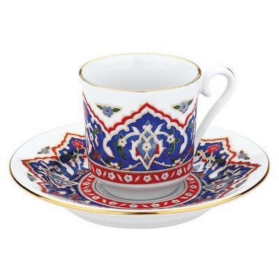 Kütahya Porselen 3646 Desen Kahve Fincan Takımı Çay Seti