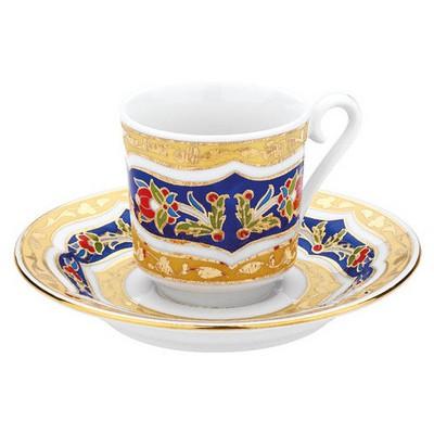 Kütahya Porselen 3880 Desen Kahve Fincan Takımı Çay Seti