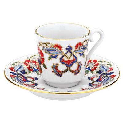 Kütahya Porselen 452 Desen Kahve Fincan Takımı Çay Seti