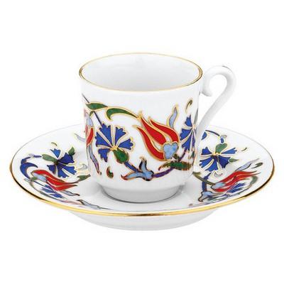 Kütahya Porselen 460 Desen Kahve Fincan Takımı Çay Seti