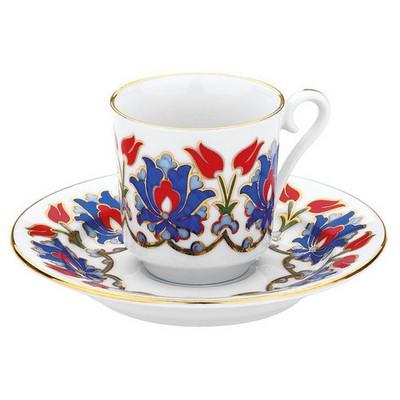Kütahya Porselen 564 Desen Kahve Fincan Takımı Çay Seti